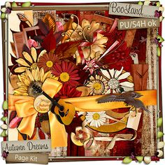 Digital Scrapbooking - Still prefer the real thing but some of these are just too beautiful and too tempting.