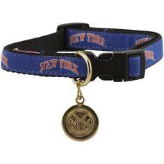 NBA New York Knicks Ribbon Pet Collar with I.D. Tag - Royal Blue (Medium/Large) #NBA #dogs #collar #Knicks #nylon #basketball #DoggieFanShop http://www.amazon.com/dp/B007G8OB5O/?m=A1NA78YA31CVW5