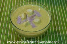 Mis recetas Mycook: Crema de verduras con jamón dulce