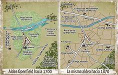 Evolución de la agricultura inglesa en el siglo XVIII.