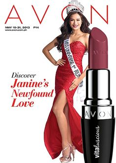 Discover Janine's New-found Love. She loves Vitaluscious Lipstick. Visit www.avon.com.ph for this and other great makeup products!