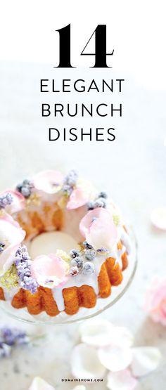 14 elegant recipes for brunch