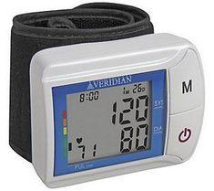 Veridian Wrist Digital Blood Pressure Monitor #BloodPressureReading