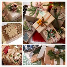 Christmas gift wrapping ideas… | The Vintage Home