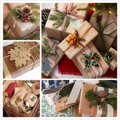 Christmas Vintage Gift Wrap