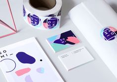 """design-overdose: """"— Somi by julia kostreva Art direction, branding and illustration for a casual intimates label offering colorful basics made in San Francisco, California. SOMI works with bold,. Identity Design, Graphic Design Typography, Graphic Design Illustration, Visual Identity, Brand Identity, Logo Branding, Design Graphique, Art Graphique, Corporate Design"""