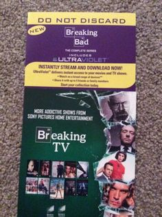 #Breaking bad the #complete #series 1-6 uv codes (no discs),  View more on the LINK: 	http://www.zeppy.io/product/gb/2/272229963445/