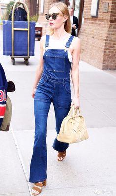 celebridade-kate-bosworth-street-style-jardineira-jeans