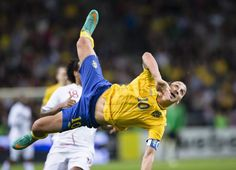 Zlatan Ibrahimovic, what the heck is he doing?