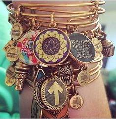Lovin my Alex and Ani's!!!