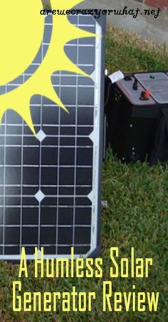 We look at the Humless Solar Generator, an off-grid power system that can be charged by the sun, a wall outlet, or even a hand crank. Solar Panel System, Solar Energy System, Panel Systems, Survival Prepping, Emergency Preparedness, Survival Skills, Survival Mode, Homestead Survival, Solar Panels For Home