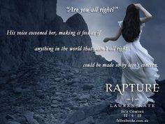 Rapture - the fallen series Serie Fallen, Fallen Saga, Fallen Book, Fallen Novel, Fallen Angels, Lauren Kate, Love Never Dies, All I Ever Wanted, After Life