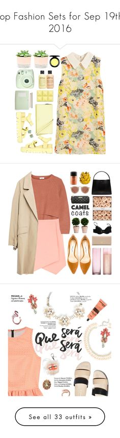 """""""Top Fashion Sets for Sep 19th, 2016"""" by polyvore ❤ liked on Polyvore featuring Hostess, philosophy, Kate Spade, Xiao Li, Fuji, MAC Cosmetics, Dorothy Perkins, Brunello Cucinelli, Zara and Jimmy Choo"""