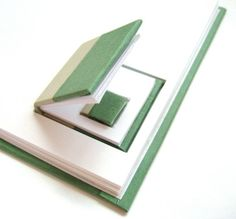 Book In A Book  Original Artist Book/Journal door MadRiverStudio