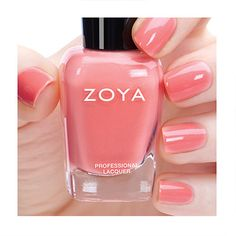 Zoya Nail Polish in Tulip from the Petals Collection Spring 2016 #pink/orange