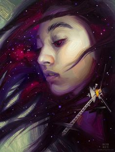 Interstellar Voyager by Rob Rey - robreyfineart.com