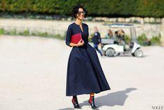 Preciously Me blog : Paris Fashion Week Street Style