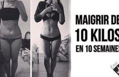 Maigrir de 10 kilos en 10 semaines