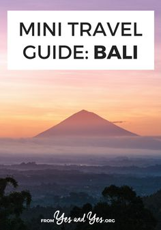 Looking for a travel guide to Bali? Click through for Bali travel tips from a local - what to do, where to go, and how to do it all cheaply, safely, and respectfully!