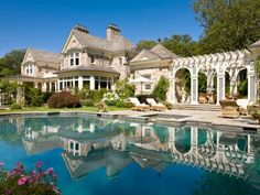Champagne Children Enchanted Home, Beautiful Pools, Cool Pools, My Dream Home, Dream Land, Dream Homes, Dream Big, Future House, Luxury Homes