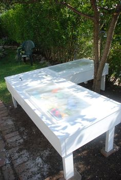 Musings » Blog Archive » DIY – Sand and Water table
