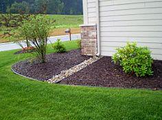 Gutter Splash Blocks | Regional Gardening Reports :: National Gardening Association