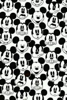 Mickey Mouse You could print this as placemats or cut into triangles for banners, hats, any decor really