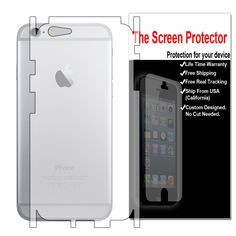 Calishieldz iPhone 6 Plus Back Side Military Grade Shield Protector (Wet Apply) Almost Sold Out