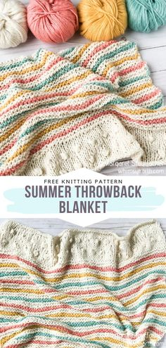 Loom Knitting Patterns, Crochet Blanket Patterns, Free Knitting, Baby Knitting Patterns Free Newborn, Crochet Pattern, Free Pattern, Knitted Afghans, Knitted Baby Blankets, Loom Crochet