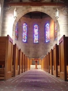 This is where we would have married if we tied the knot in Ohio.  Interior, Fairchild Chapel, Oberlin, Ohio.