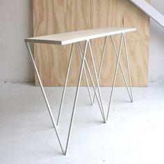 &New Giraffe console table, OSB/white   &New Giraffe   Tables   Furniture   Finnish Design Shop