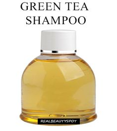 DIY green tea shampoo for hair growth - Green tea is excellent source of…