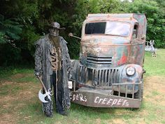 I still want the Jeepers Creepers truck! 41 Chevy COE