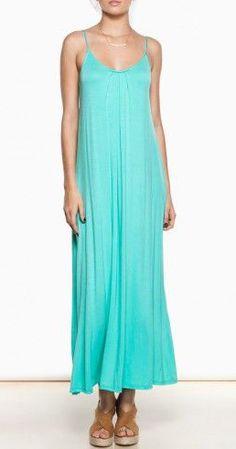 Great Lengths Maxi Dress in Mint