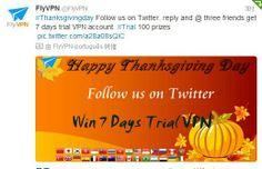 Siga FlyVPN no twitter!