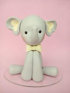 Elefantinho biscuit Hello Kitty, Baby Dolls, Ideas, Atelier