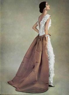 Balenciaga evening dress 1956