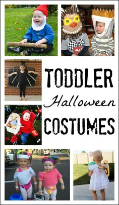 These are the cutest Halloween costumes for little kids! These ideas are adorable and simple, perfect for baby, toddler, preschool, and ANY little kids! Cute Halloween Costumes, Halloween Activities, Halloween Kids, Creative Activities, Halloween 2019, Halloween Crafts, Holiday Crafts, Happy Halloween, Holiday Ideas