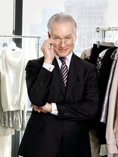 The always-entertaining Tim Gunn (best vocabulary on TV!) and a kind and generous soul.