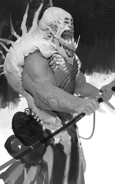 Anthony Jones is a concept artist and illustrator working in the film and video game industry. Character Design Animation, Character Art, Anthony Jones, Macabre Art, Moon Photography, Fantasy Monster, Cyberpunk Art, Creature Concept, Sketches