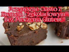 Przepyszne Ciasto Z Kremem Czekoladowym!!! Bez Pieczenia Bez Glutenu!!! - YouTube Youtube, Desserts, Recipes, Food, Tailgate Desserts, Deserts, Meals, Dessert, Eten