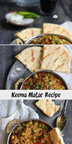 Keema Matar Recipe - Recipes For Kids Mince Recipes, Veg Recipes, Curry Recipes, Other Recipes, Prawn Masala, Garam Masala, Chana Masala, Keema Matar Recipe, Indian Chicken