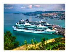 #kusadasi #port #ephesus #sea #cruiseship