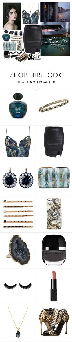 """""""Delilah - Florence & The Machine"""" by leo8august ❤ liked on Polyvore featuring Christian Dior, Zimmermann, Shaffer, BP., Kimberly McDonald, NARS Cosmetics and Sergio Rossi"""