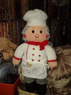 Crochet Pattern Chef Hat : Cuochi on Pinterest Chefs, Amigurumi and Chef Hats