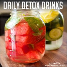 Make Your Own Detox Drink for Daily Enjoyment & Cleansing! Please LIKE If You Save! :)
