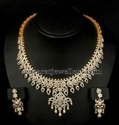Jewellery Designs: Floral Design Classy Choker Set