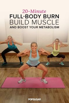 Blast away fat and build muscles with this 20-minute workout video. Press play to feel the burn!