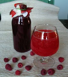 Mix with soda water Raspberry Syrup, Hungarian Recipes, Main Dishes, Pudding, Vegetarian, Yummy Food, Meals, Cooking, Syrup
