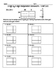 area model multiplication and division task cards basic operations 4th 8th grade. Black Bedroom Furniture Sets. Home Design Ideas